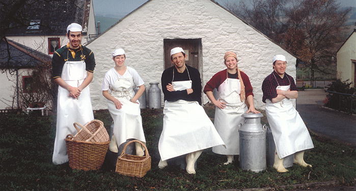 The Creamery Crew At Loch Arthur