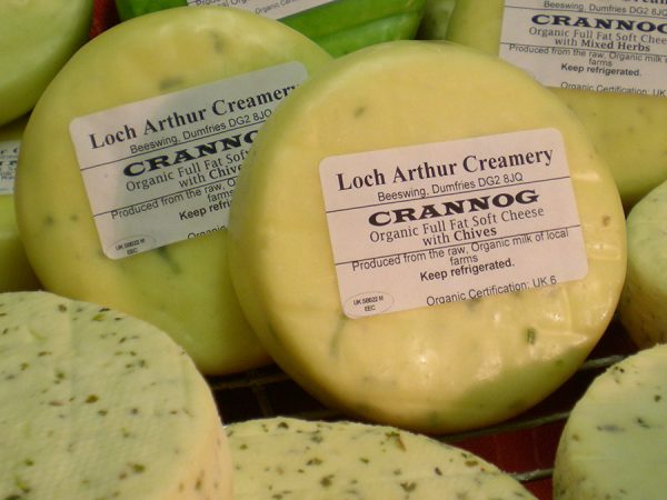 Loch Arthur Crannog Soft Cheese, Dumfries